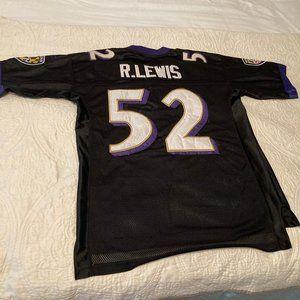 NFL Ravens Embroidered Jersey